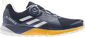 adidas TERREX Two Boa GTX Shoes Herre collegiate navygrey oneactive gold